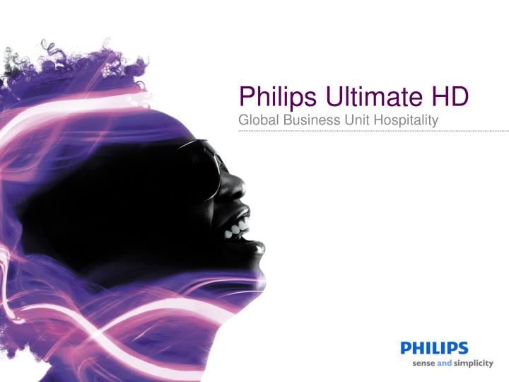 Philips Ultimate HD