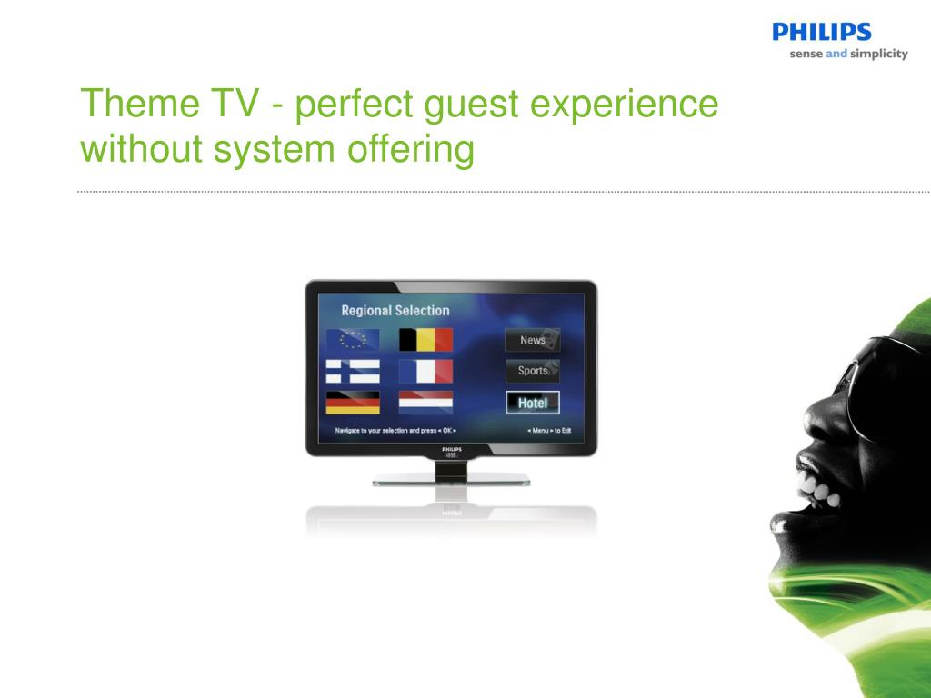 Theme TV - perfect guest experience without system offering