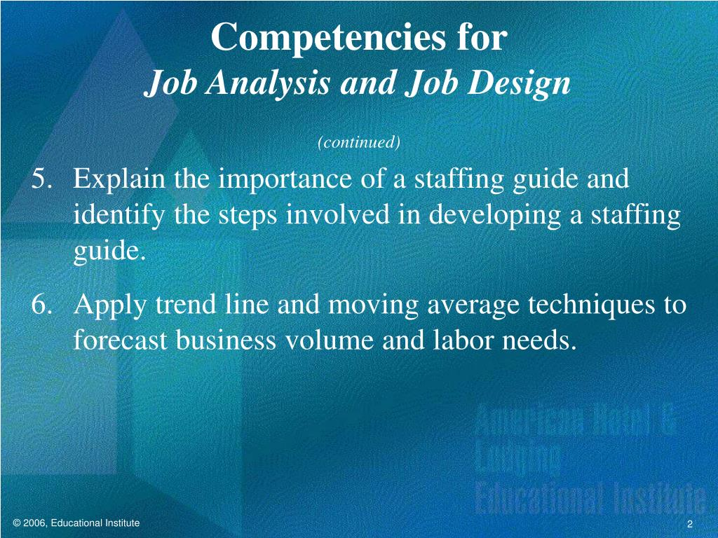 Competencies for