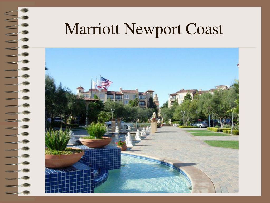 Marriott Newport Coast
