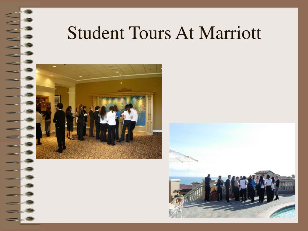 Student Tours At Marriott