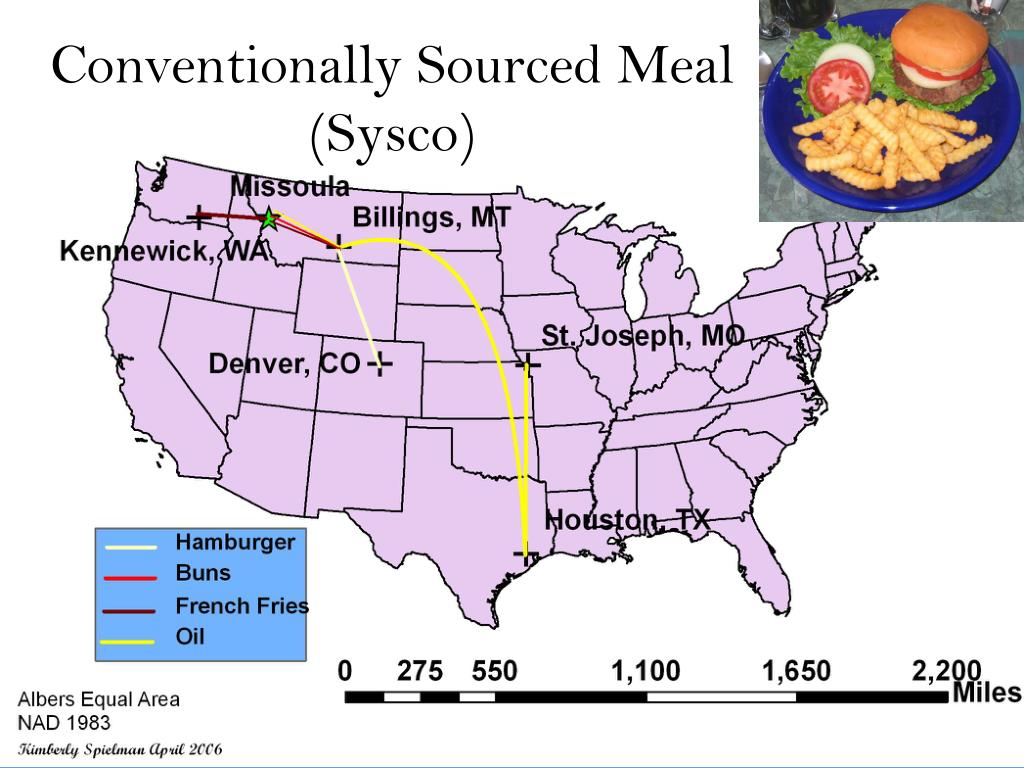 Conventionally Sourced Meal (Sysco)