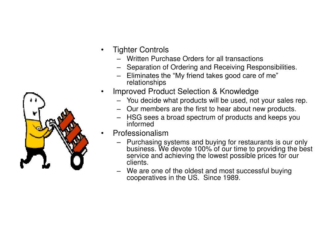 Tighter Controls