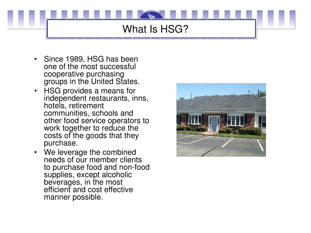 What Is HSG?