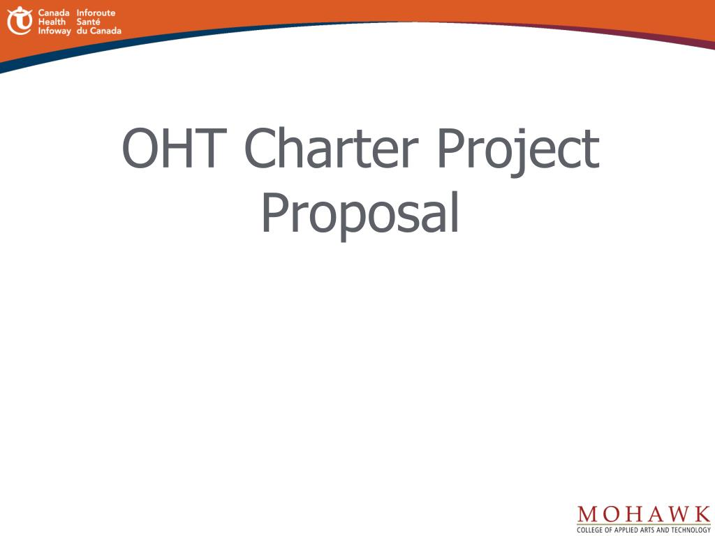 OHT Charter Project Proposal