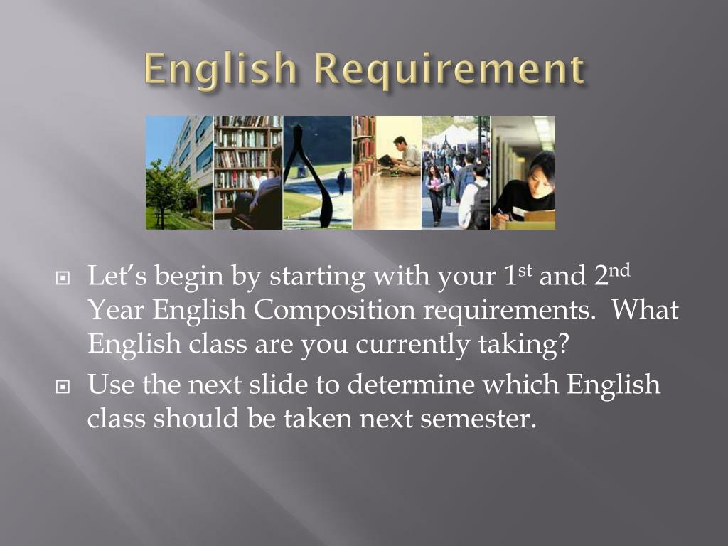English Requirement