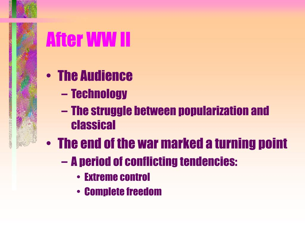 After WW II