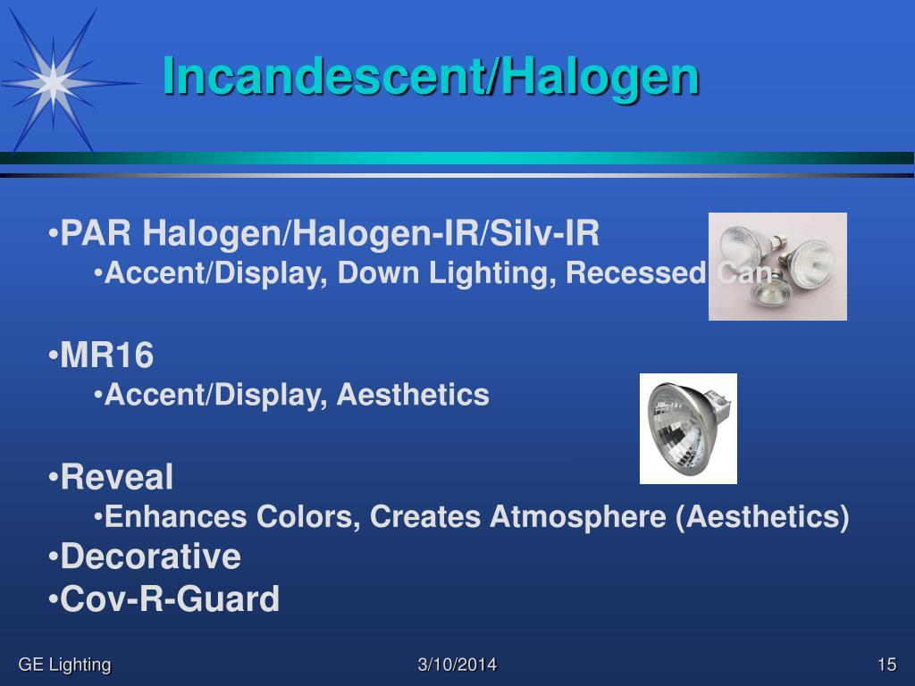 Incandescent/Halogen