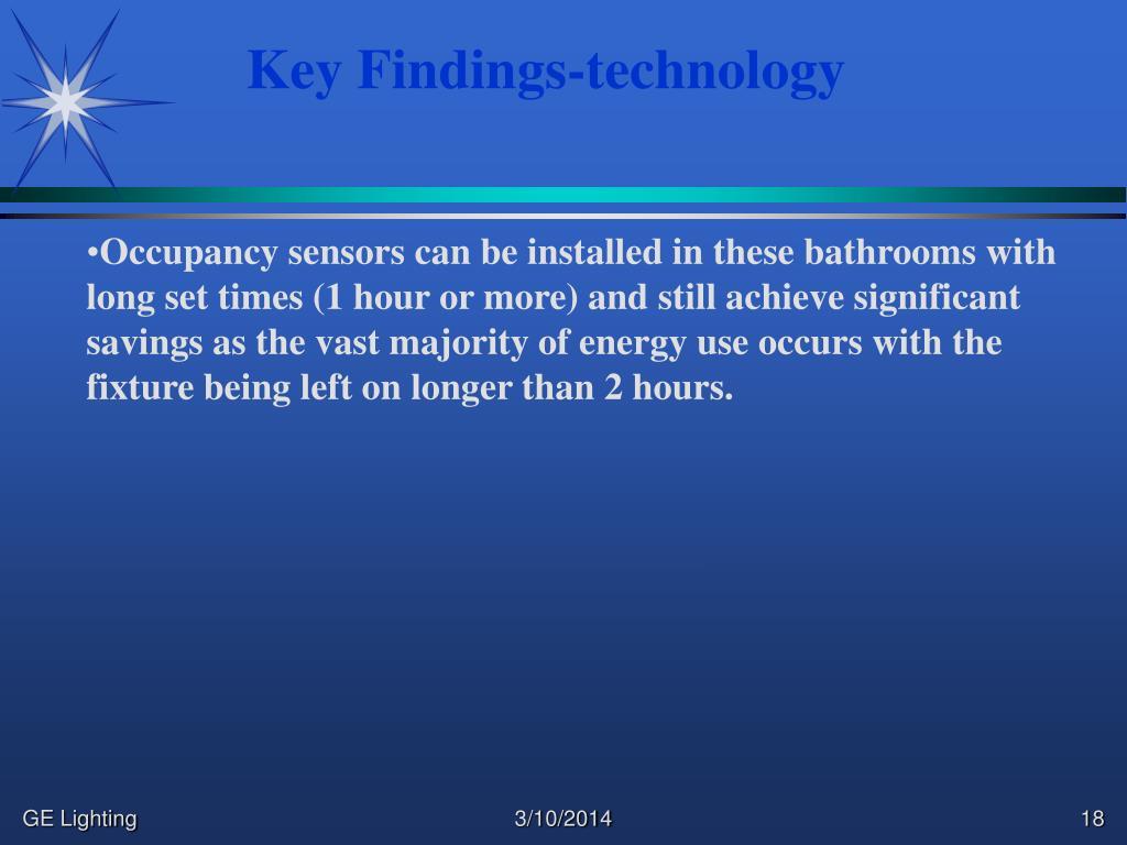 Key Findings-technology
