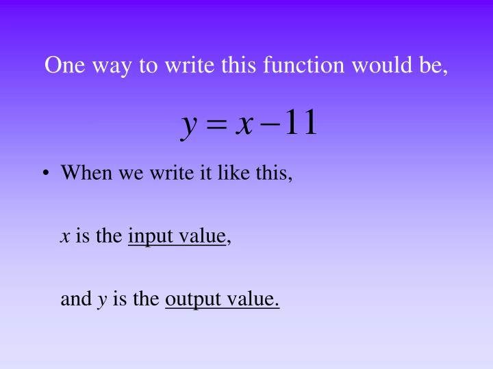 One way to write this function would be,