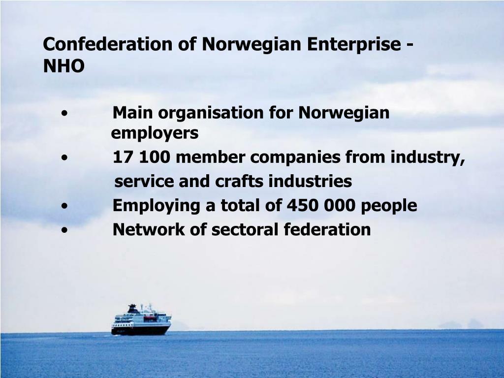 Confederation of Norwegian Enterprise - NHO