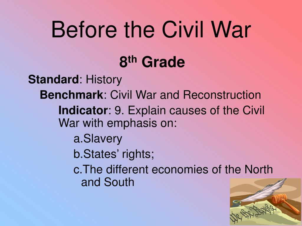 Before the Civil War