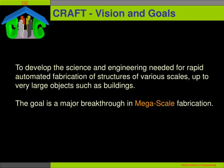 Craft vision and goals