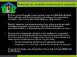robotics fab modular components assembly