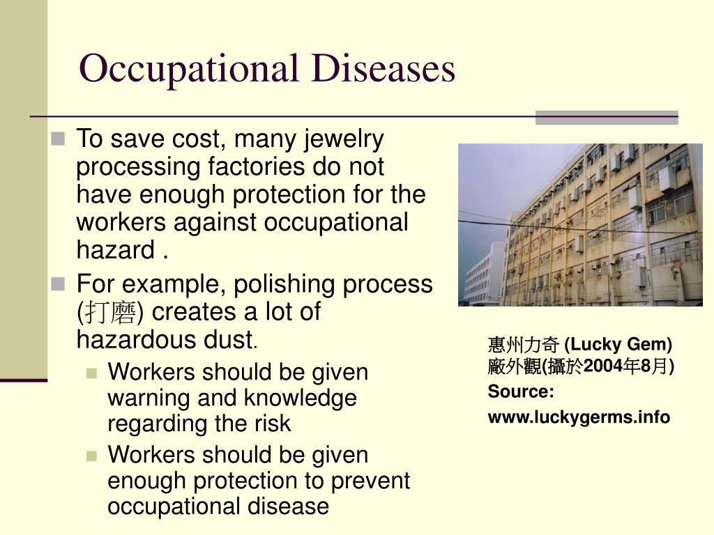 Occupational Diseases