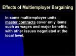 effects of multiemployer bargaining49