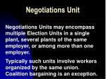 negotiations unit7