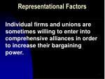 representational factors