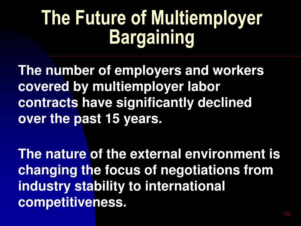 The Future of Multiemployer Bargaining