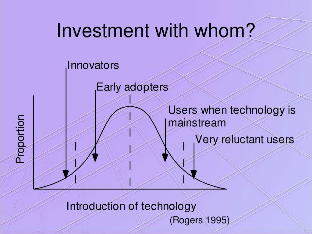 Investment with whom?