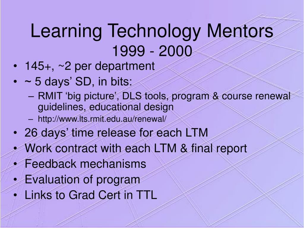 Learning Technology Mentors