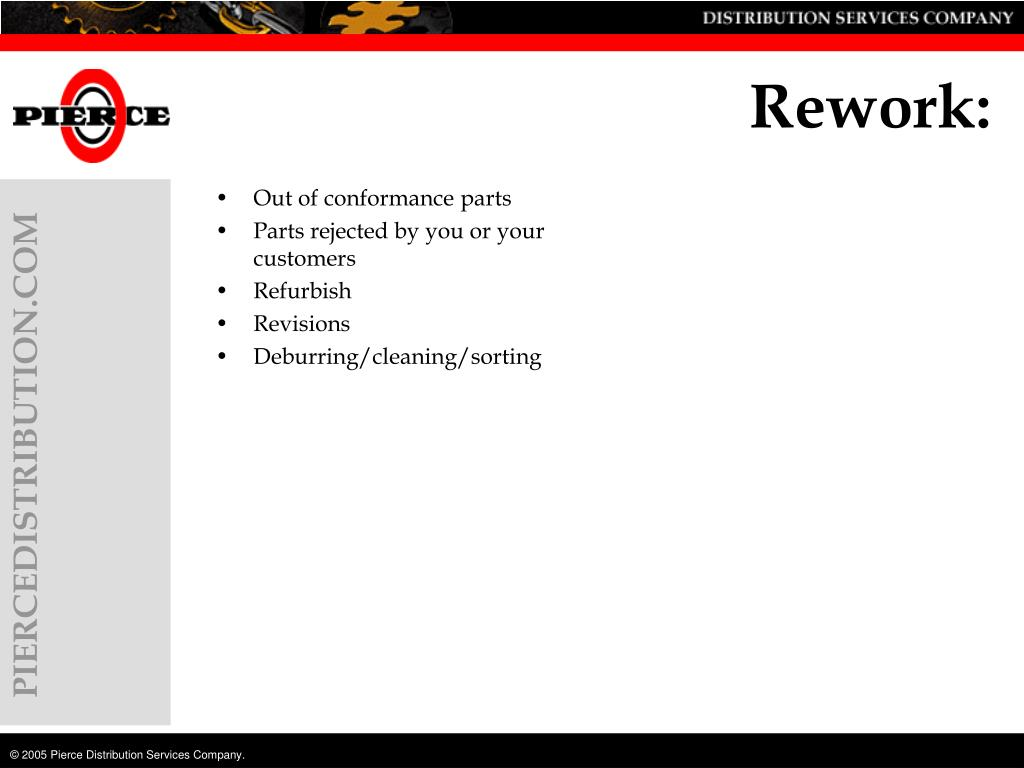 Rework: