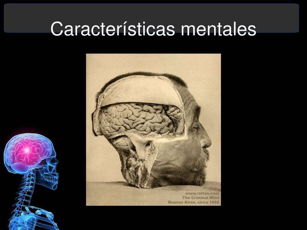 Características mentales