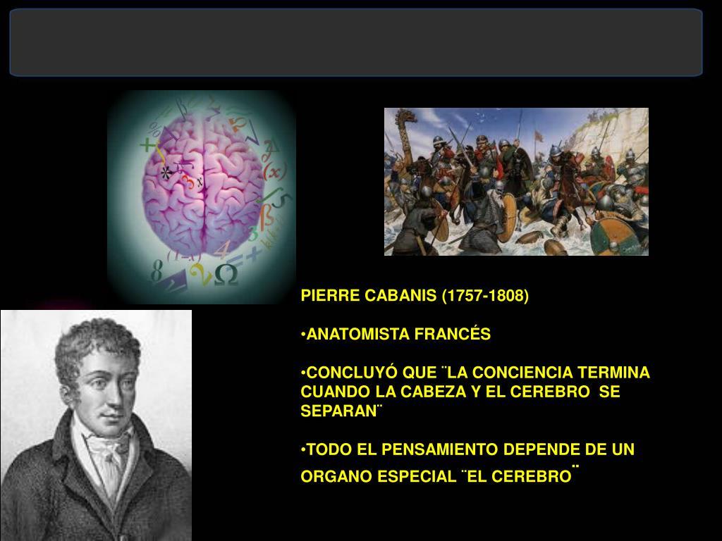 PIERRE CABANIS (1757-1808)