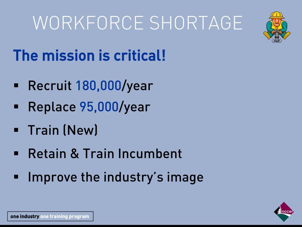 WORKFORCE SHORTAGE