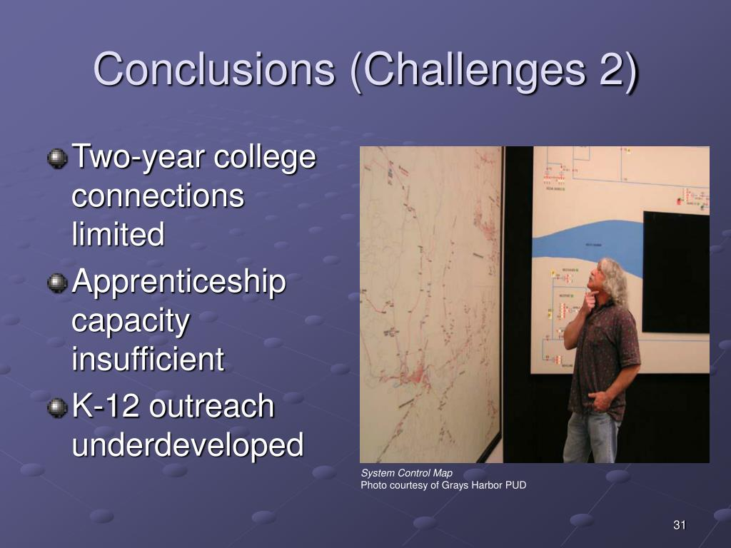 Conclusions (Challenges 2)