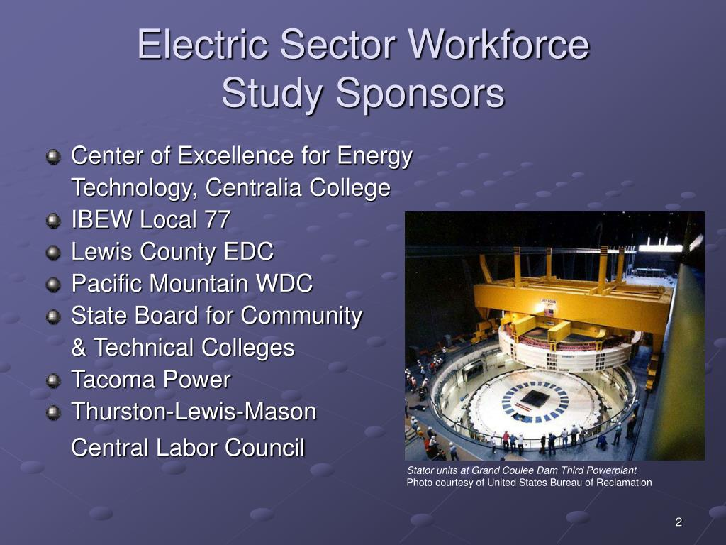 Electric Sector Workforce