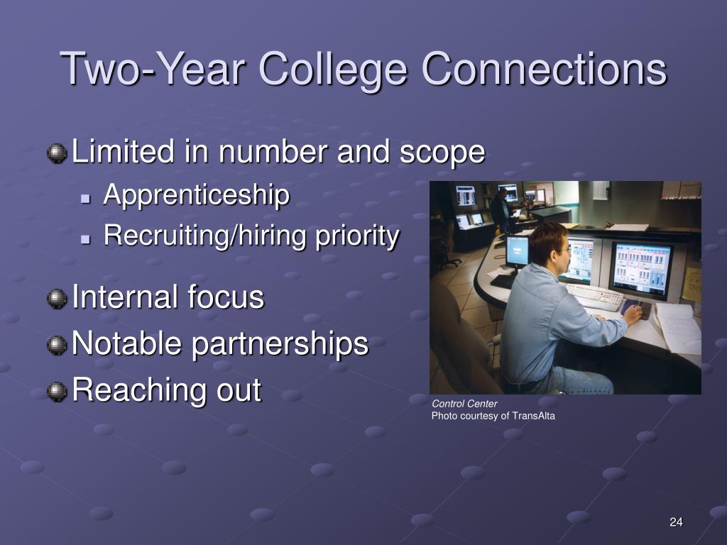 Two-Year College Connections