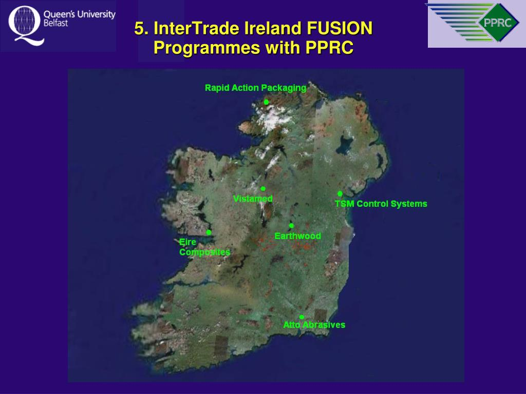5. InterTrade Ireland FUSION Programmes with PPRC