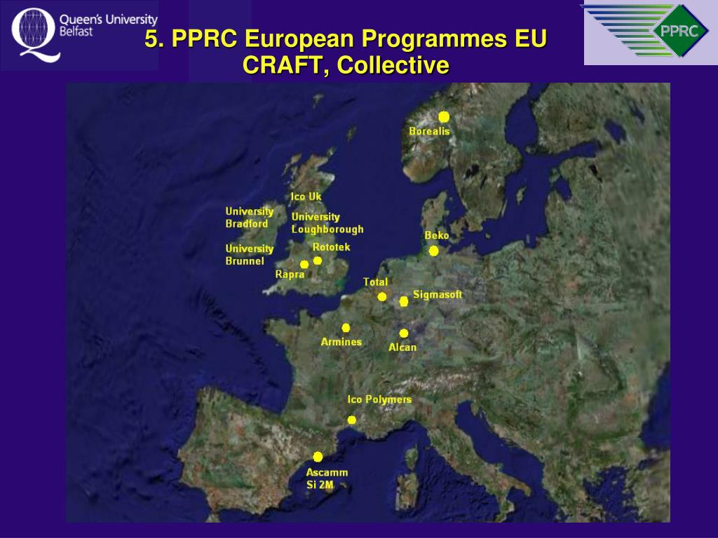 5. PPRC European Programmes EU CRAFT, Collective