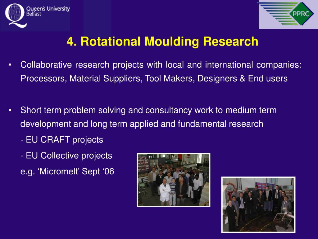 4. Rotational Moulding Research