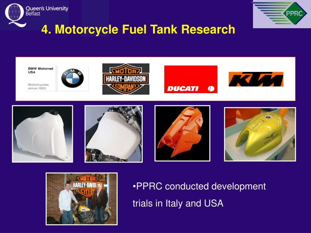 4. Motorcycle Fuel Tank