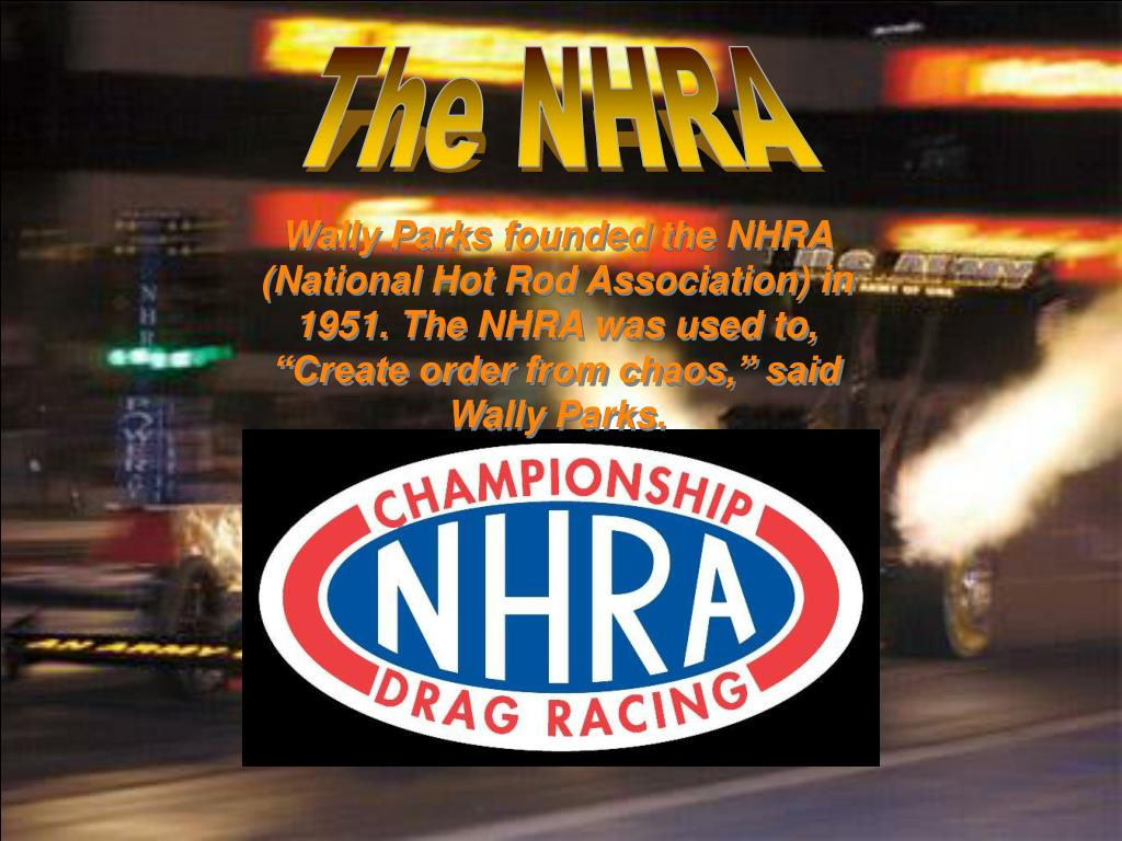 The NHRA