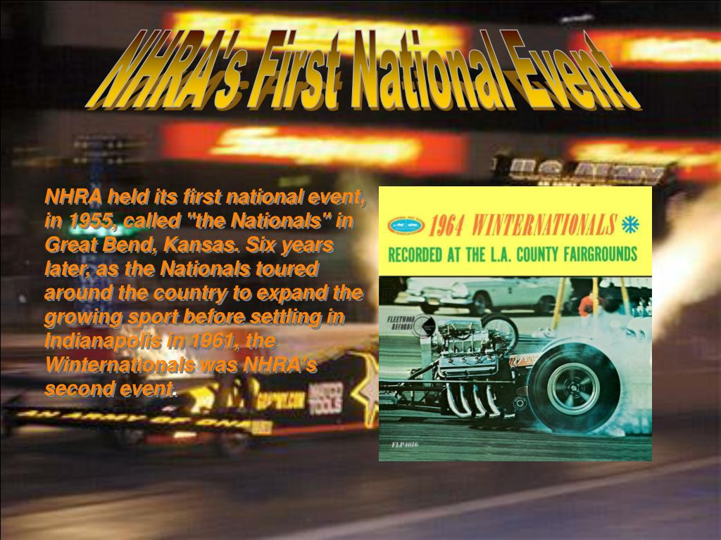 NHRA's First National Event