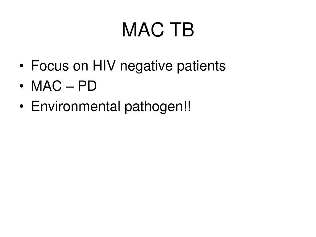 MAC TB