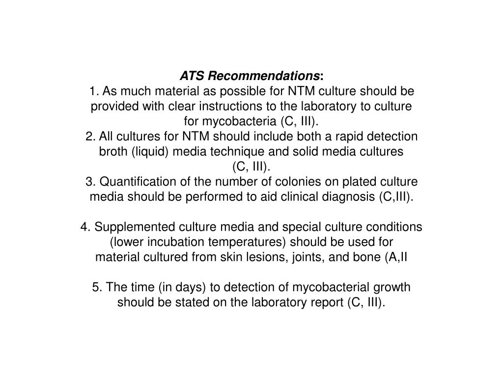 ATS Recommendations