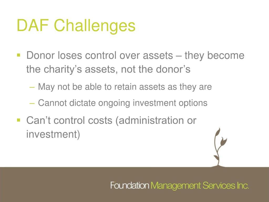 DAF Challenges
