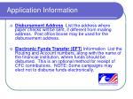 application information11