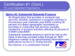 certification 1 cont for local independent organizations15