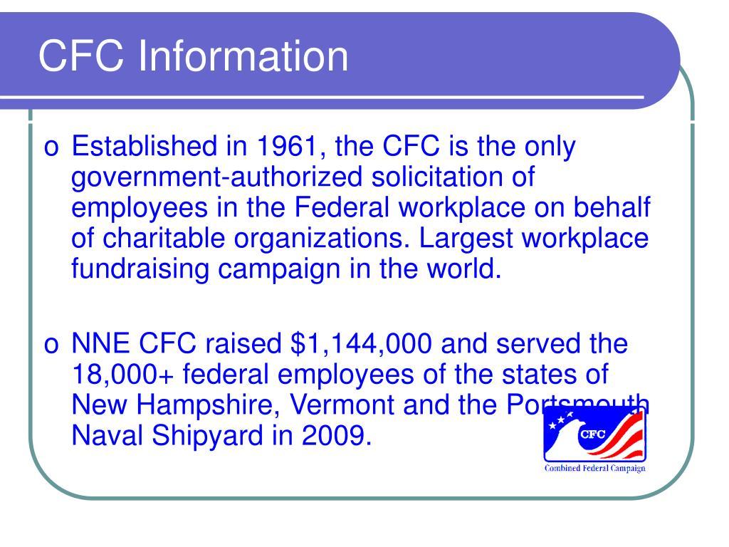 CFC Information