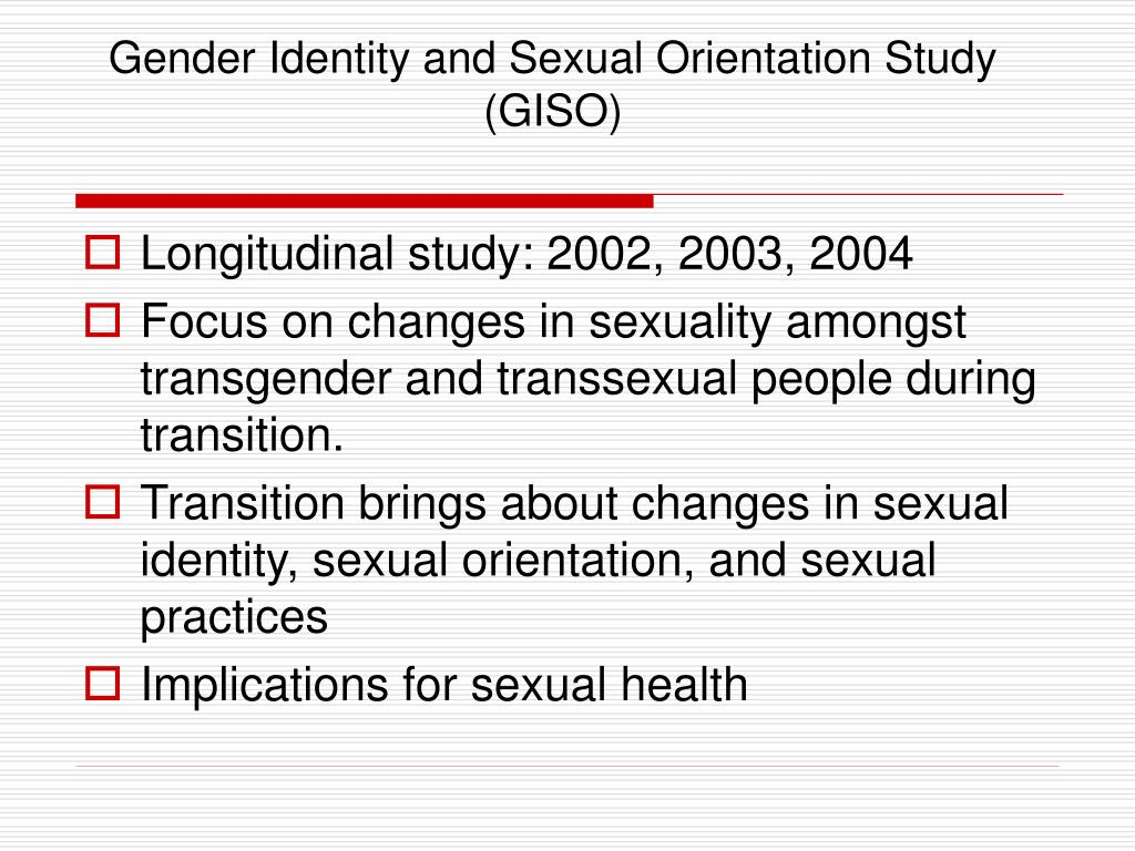 Gender Identity and Sexual Orientation Study