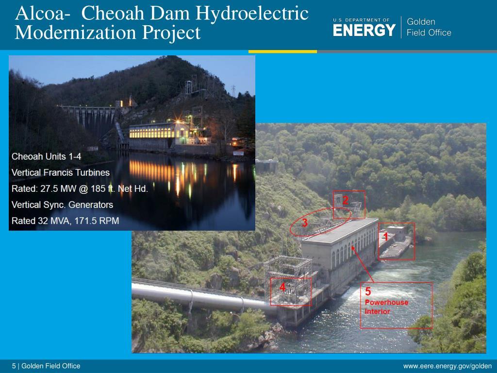 Alcoa-  Cheoah Dam Hydroelectric Modernization Project
