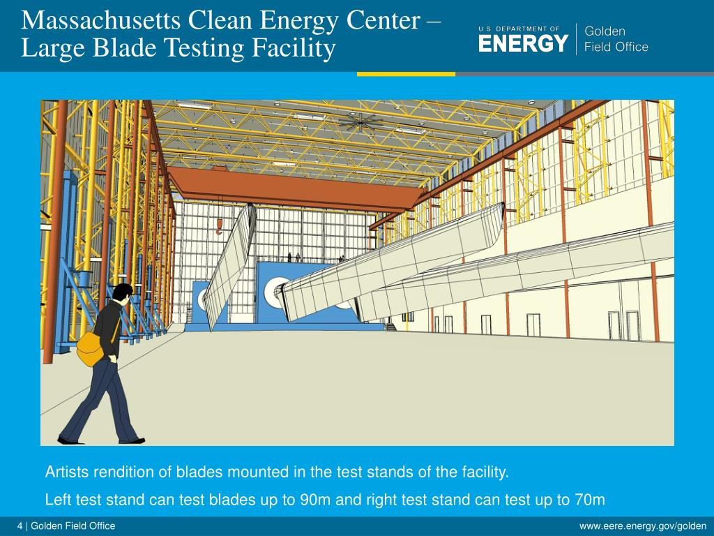 Massachusetts Clean Energy Center – Large Blade Testing Facility