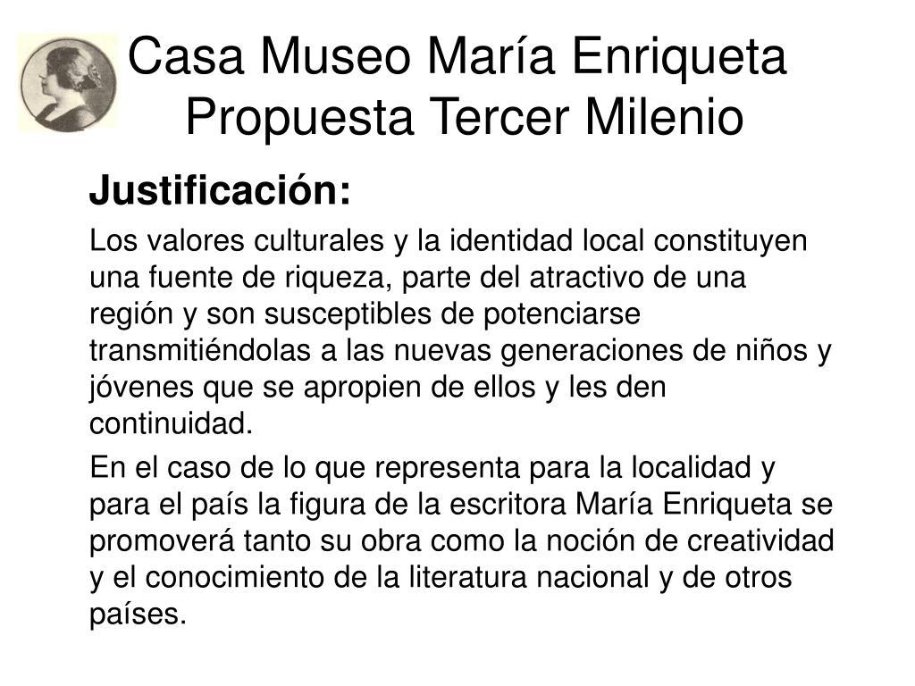 Casa Museo María Enriqueta