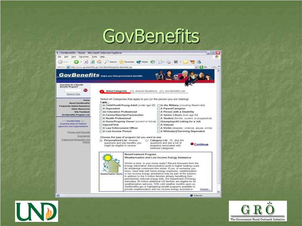 GovBenefits