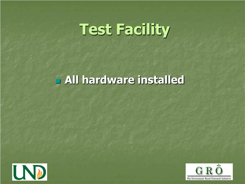 Test Facility